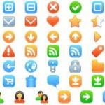 40 paquetes de iconos para diseño web