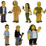"""Excelente: Los personajes de Lost, """"simpsonizados"""""""