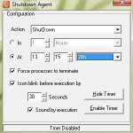 Programa el apagado de la PC automáticamente con Shutdown Agent