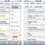 Nueva interfaz de Gmail para el iPhone y Android