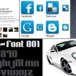 Design Friday: Iconos, texturas y coches vectoriales