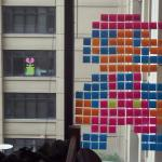 Guerra de post-it entre dos fanáticos de Mario Bros