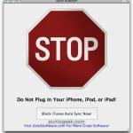 Bloquear la sincronización automática de iTunes con Sync Block