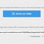 Crear tu propio tema para Chrome simplemente con My Chrome Theme