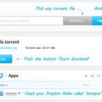 Boxopus: Descarga torrents automáticamente a tu cuenta de DropBox