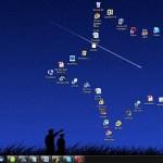 Organiza tus iconos en formas geométricas