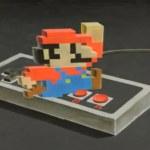 Time Lapse de Super Mario en 3D creado con tizas