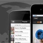 Grooveshark lanza su app web para dispositivos iOS y Android