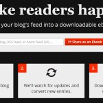 Crea un ebook del feed de tu blog con Ebook Glue