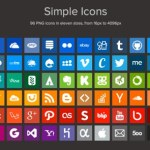 Simple Icons: Excelente set de íconos sociales y de internet