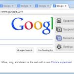 Aumenta el rendimiento en Chrome suspendiendo pestañas