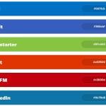 BrandColors: Los colores usados por las empresas del mundo