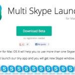 Cómo abrir varias sesiones de Skype en Mac