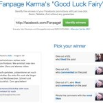 Good Luck Fairy: Elegir ganador para un concurso en Facebook
