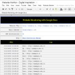 Monitorea el estado de tus sitios web gratis con Google Docs