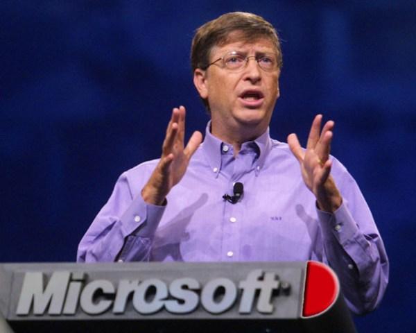 Bill Gates en Microsoft