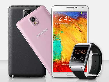 Note 3 y Galaxy Gear