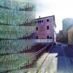 Galería de arte con imágenes defectuosas de Google Street View