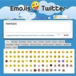 Cómo enviar tweets con emojis y símbolos online