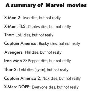 Las películas de Marvel resumidas en pocas palabras [Humor]