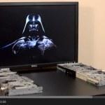 La canción de Star Wars tocada con 8 disqueteras