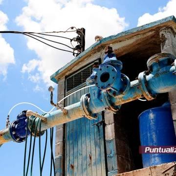 Junta de agua en Mocorito