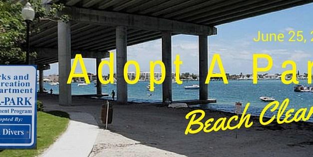 2016 Adopt A Park Beach Cleanup: June 25th