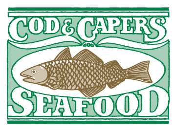 Cod & Capers logo