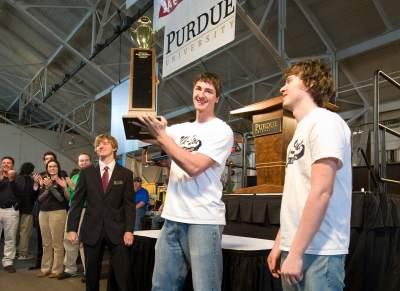 University of Wisconsin-Stout wins Rube Goldberg contest