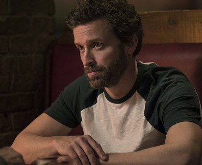"Supernatural -- ""Don't Call Me Shurley"" -- Image SN1120b_0063.jpg -- Pictured: Rob Benedict as Chuck Shurley -- Photo: Katie Yu/The CW -- © 2016 The CW Network, LLC. All Rights Reserved"