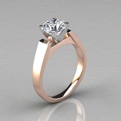 Medium Of Round Cut Engagement Rings