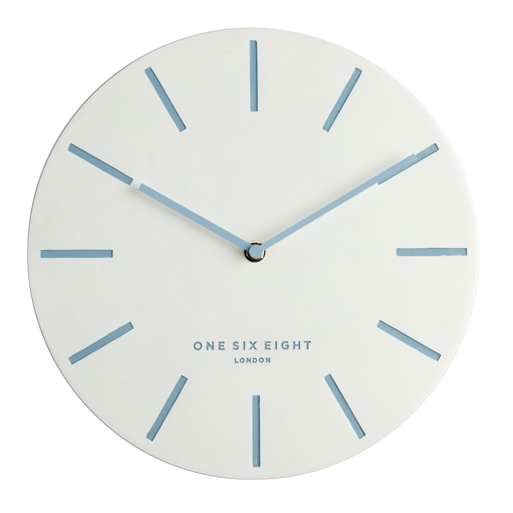 Charming Large Wall Clock Full Image Blue Markers Buy Chloe Silent Wall Clock Online Purely Wall Clocks Small Wall Clocks Kitchen Wall Clocks furniture White Wall Clocks