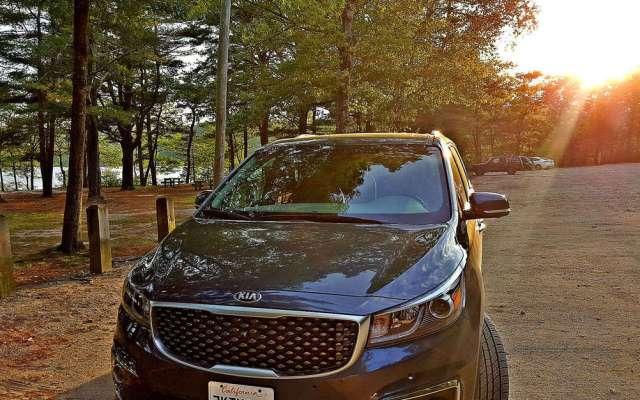 Review: KIA Sedona Traveling Through New England