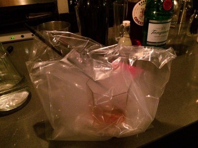 Bag drinks