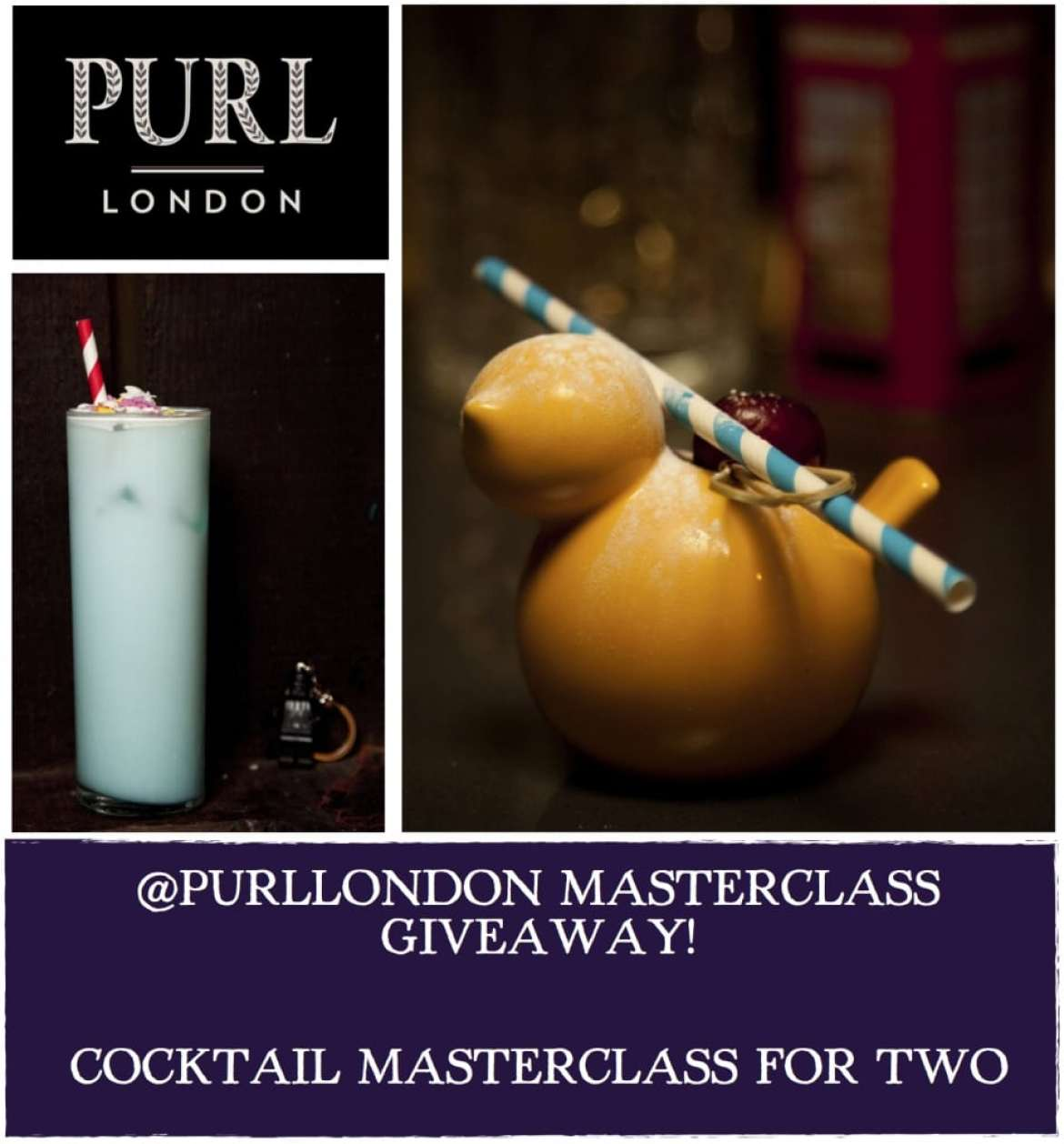 Purl Masterclass Instagram giveaway