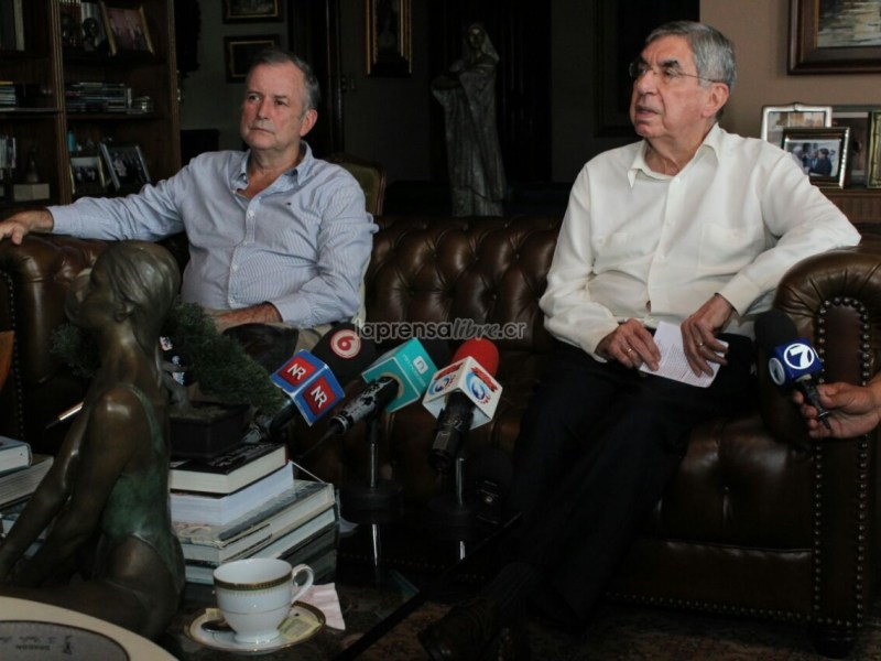 Costa Rica Oscar Arias y Ottón Solís. Google Images