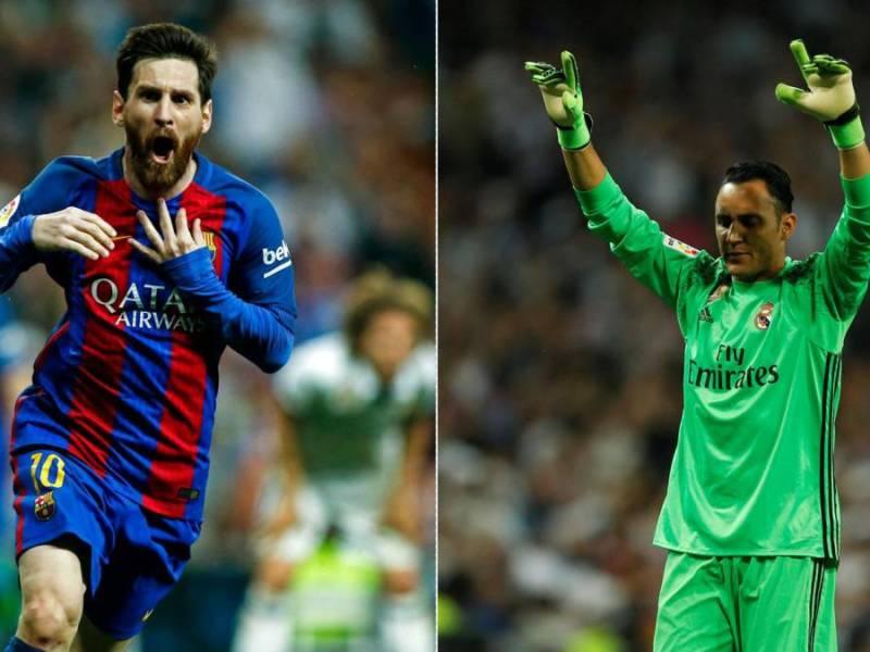 Messi-Navas. Fotos as.com Madrid