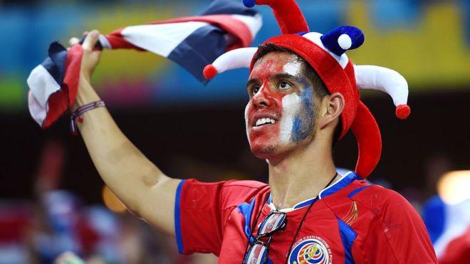 Ticos fútbol. Foto AFP bbc.com