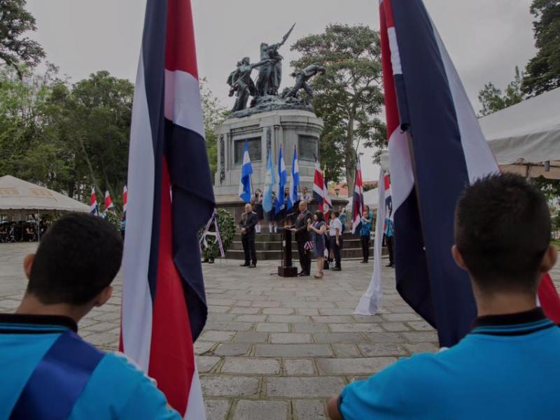 Costa Rica fiesta independencia. Foto Facebook Luis Gmo Solís