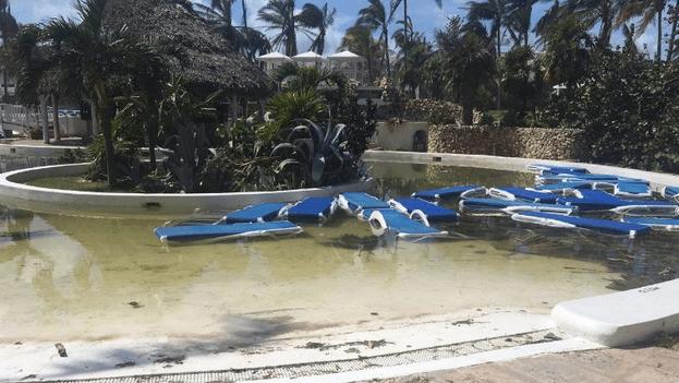 Hoitel Melia Cuba devastado por huracan. Foto 14ymedio.com
