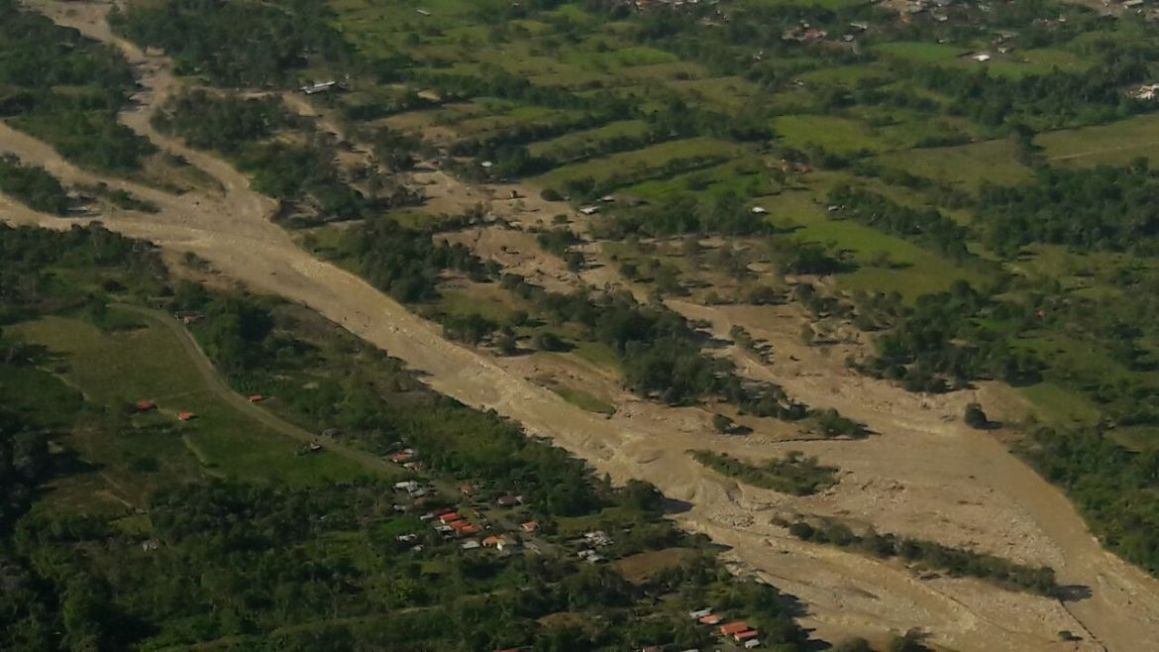 Costa Rica tormenta estragos. Foto presidencia.go.cr