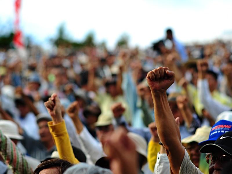 Protestas gente. Google Images