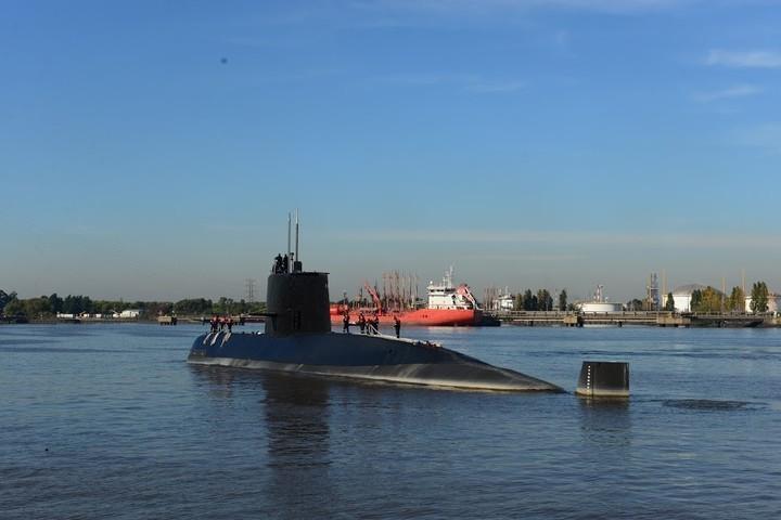 Argentina submarino. Foto clarin.com