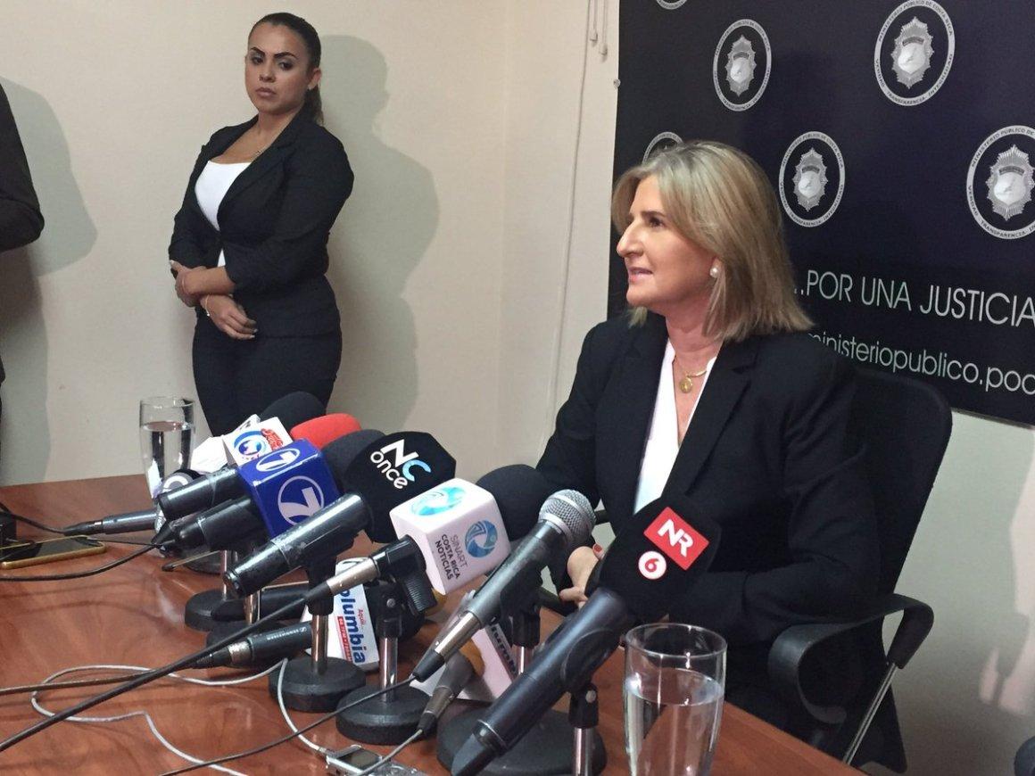 Fiscal General interina Emilia Navas. Foto Twitter