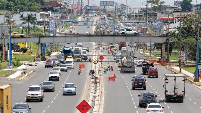 Panamá avenida Domingo Díaz. Foto prensa.com