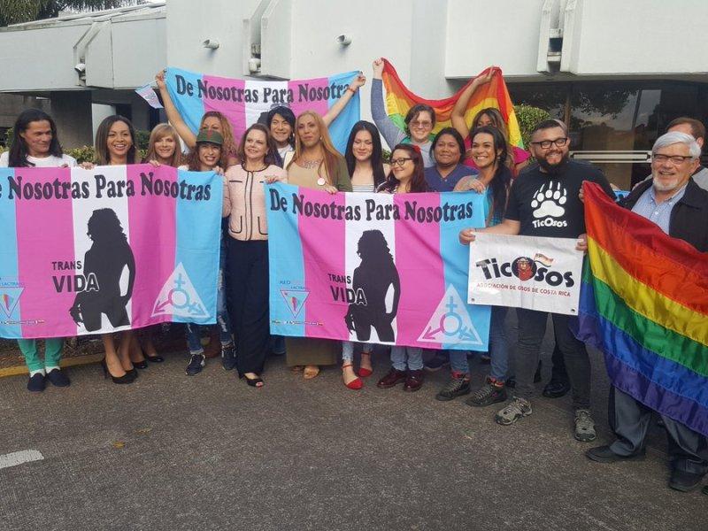 Resolución CIDH LGTBI. Foto Twitter Ana Helena Chacón