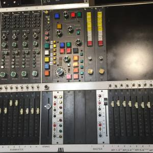 A Master Section controller installed in an API 2488 console.