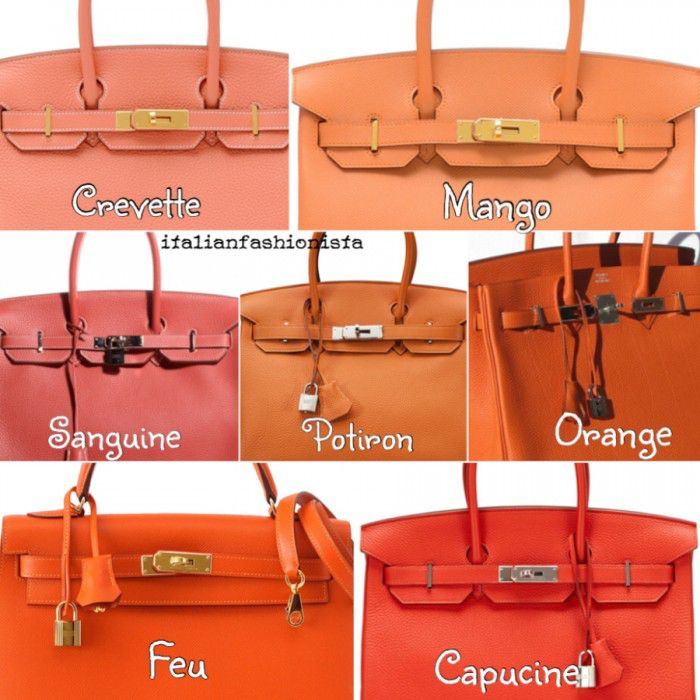 Hermes Birkin Bag Colors