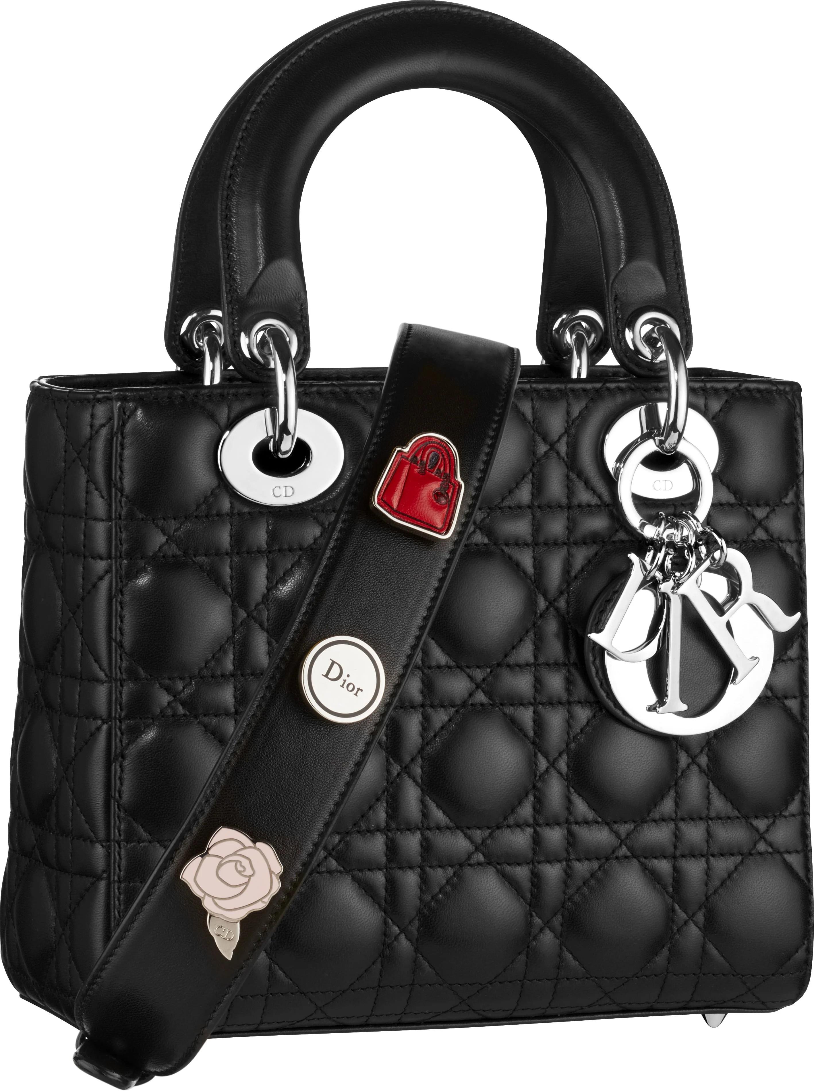 Lady Dior Small Pins - Black