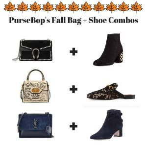 PurseBop's Fall Bag + Shoe Combos